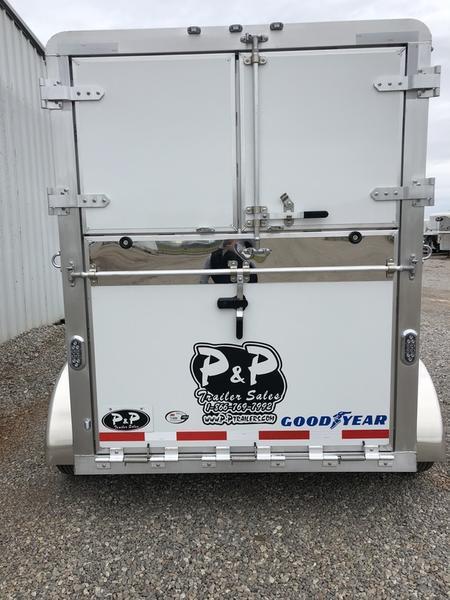 2019 P & P 2 Horse Bumper pull straight load 15'