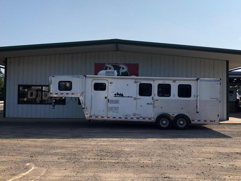 2003 Keifer Built Genesis Horse Trailer