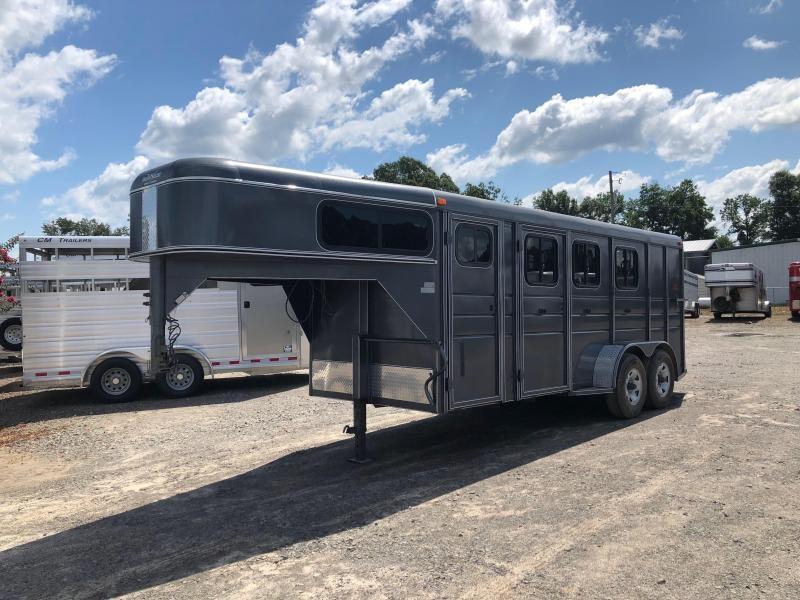 2015 Calico Trailers 6304GN 3 Horse Slant Load Trailer in Ashburn, VA