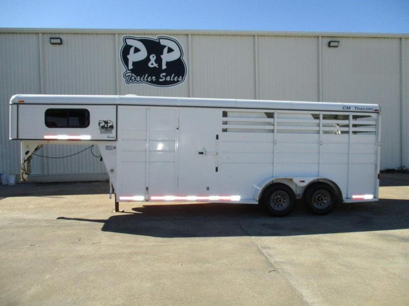 2003 CM Trailers Drover 3 Horse GN
