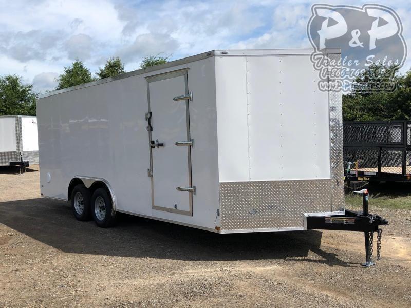 2019 Lark 8.5x20TA Enclosed Cargo Trailer
