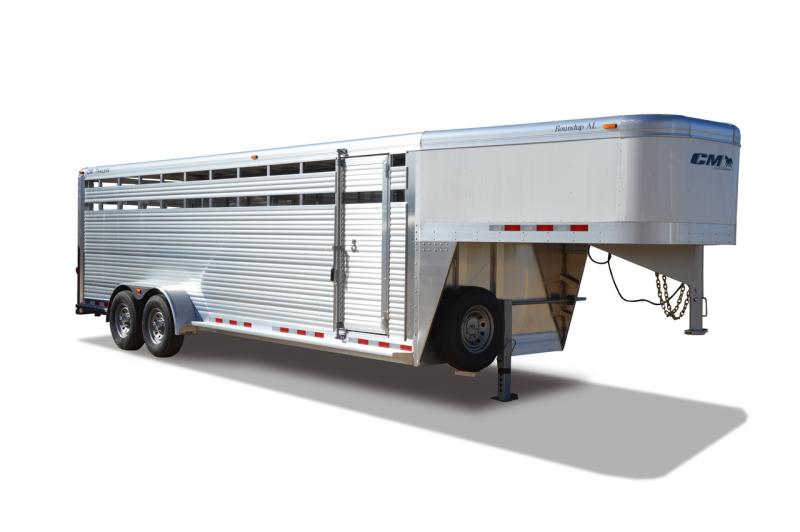 2019 CM Roundup AL Livestock Trailer