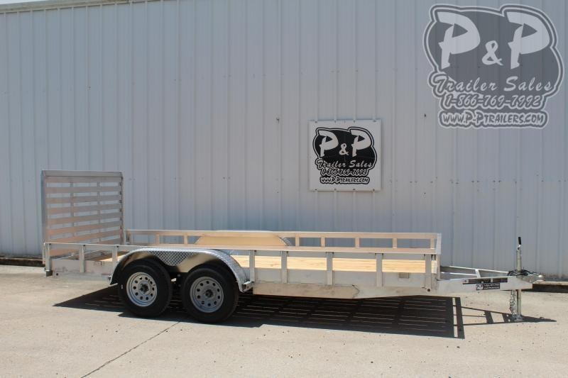 2019 Carry-On 6X16AGW7K 16 ft Utility Trailer