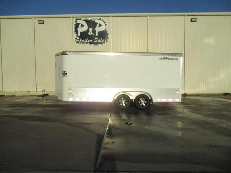 2016 Sundowner Trailers Enclosed Car Hauler Bumper Pull