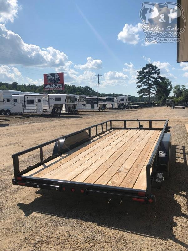 2020 Big Tex Trailers 70PI-X 18