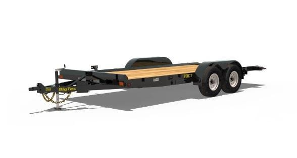 2019 Big Tex Trailers 70CT Tilt Car / Racing Trailer