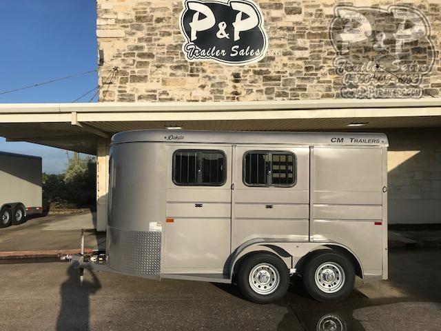 2020 CM 2H Dakota BP Horse Trailer