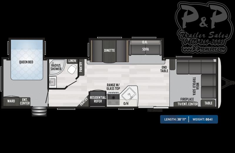 "2020 Keystone RV Springdale 38FL 38'11"" ft Travel Trailer RV"
