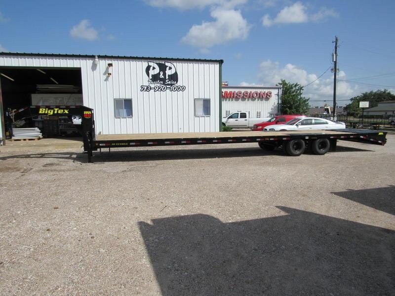 2019 Big Tex Trailers 22GN-35BK+5MR
