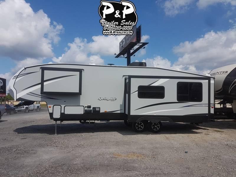 2019 Keystone RV Springdale 302FWRK 34.70' Fifth Wheel Campers LQ in Ashburn, VA