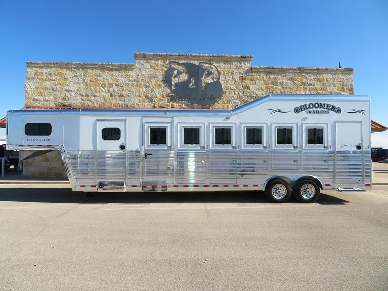 2019 Bloomer Trailers 6 Horse Super Tack Trainer in Ashburn, VA