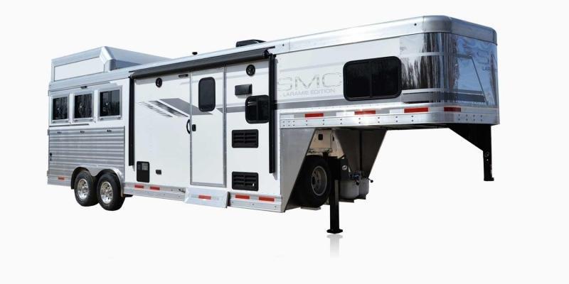 2019 SMC Horse Trailers SL8X8FK LARAMIE 3 Horse 8' LQ Horse Trailer Slant