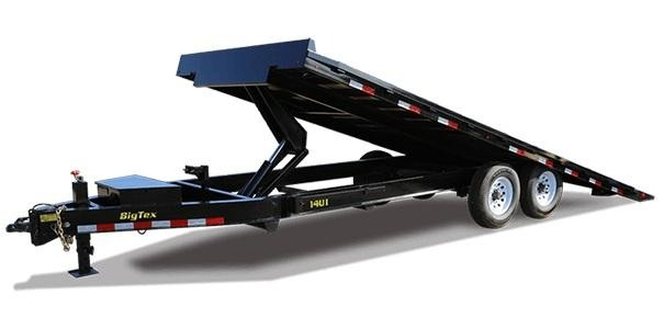 2019 Big Tex Trailers 14OT Tilt Equipment Trailer
