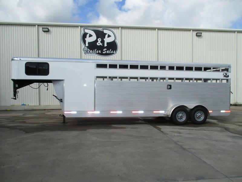2019 P & P 24' Stock/Combo Trailer in Ashburn, VA