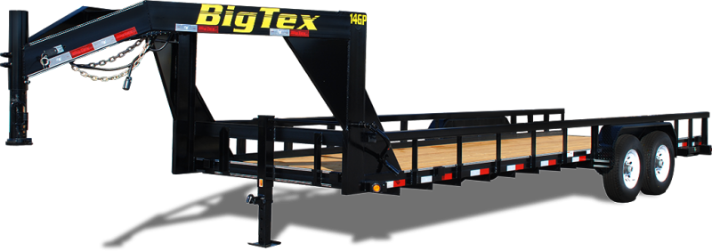 2019 Big Tex Trailers 14GP-24 Equipment Trailer in Beirne, AR