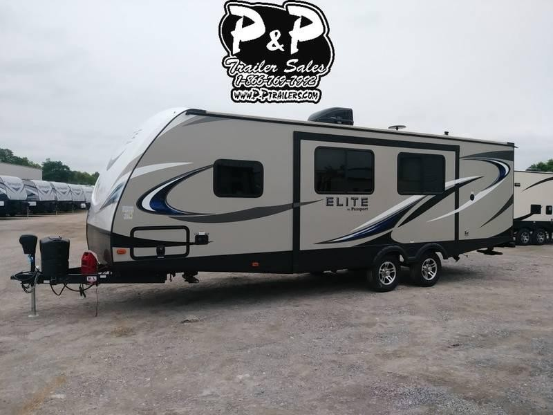 2018 Keystone Passport Elite 27RB 31.42' Travel Trailer LQ