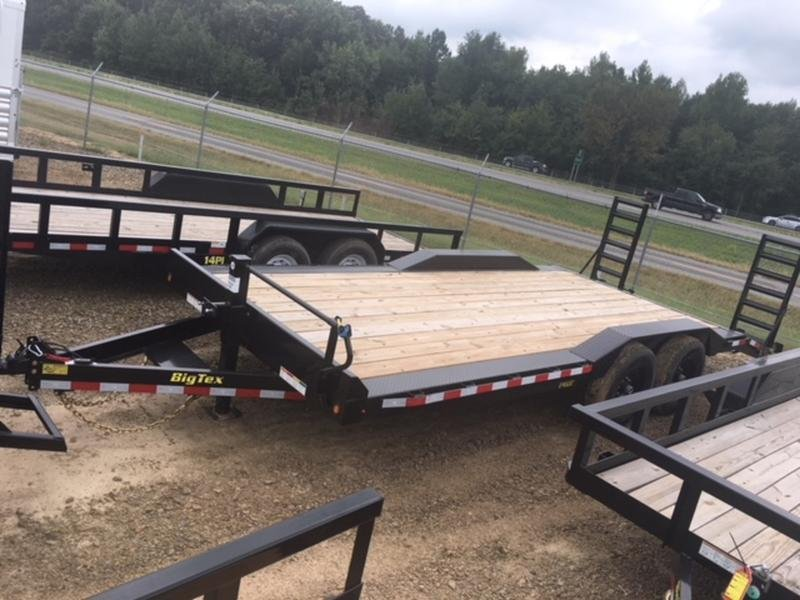2019 Big Tex Trailers 14DF 20' in Prattsville, AR