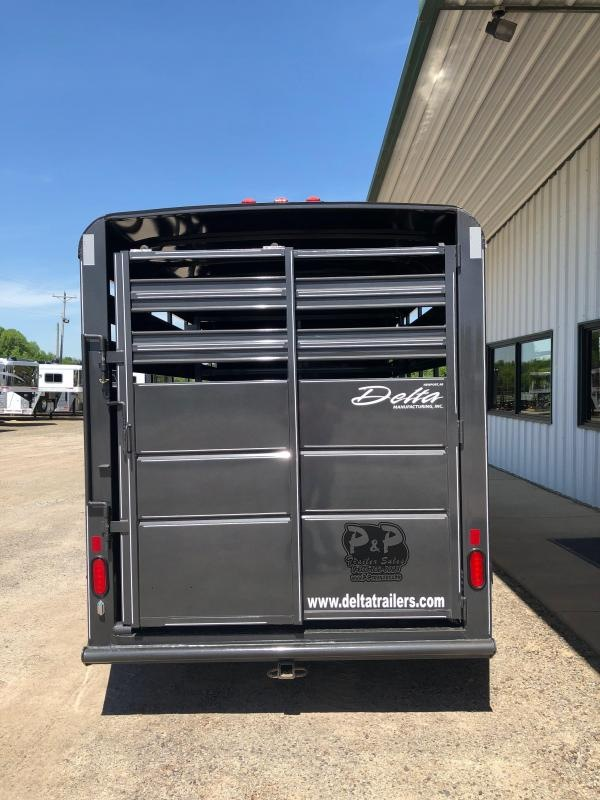 2020 Delta Manufacturing 500 Series 16' Livestock Trailer