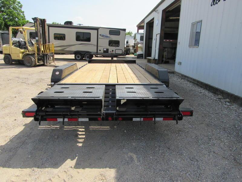 "2019 Big Tex Trailers 83"" x 18' Equipment w/Dovetail & MEGA Ramps"
