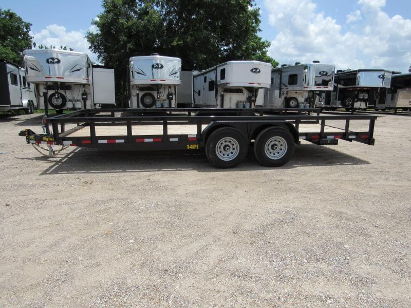 2019 Big Tex Trailers 14PI-20BK Utility Trailer