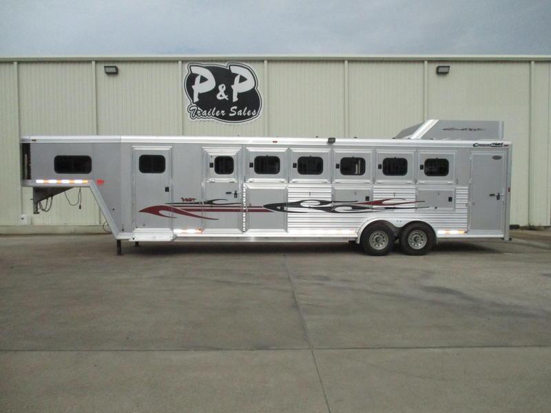 2008 Cimarron Trailers 6 Horse Trainer Trailer