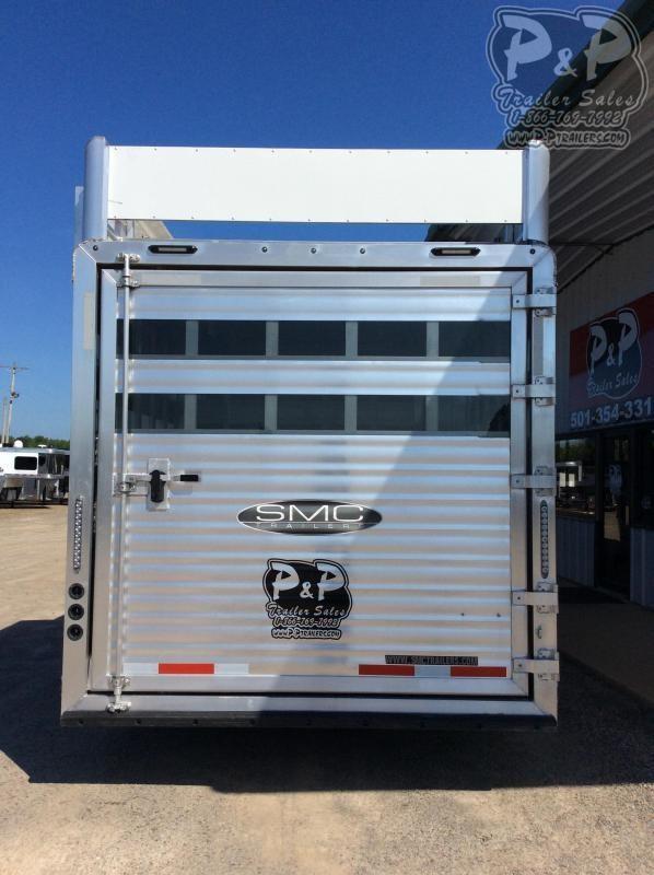 2020 SMC Horse Trailers SLE81613SSRT 34' Livestock Trailer LQ