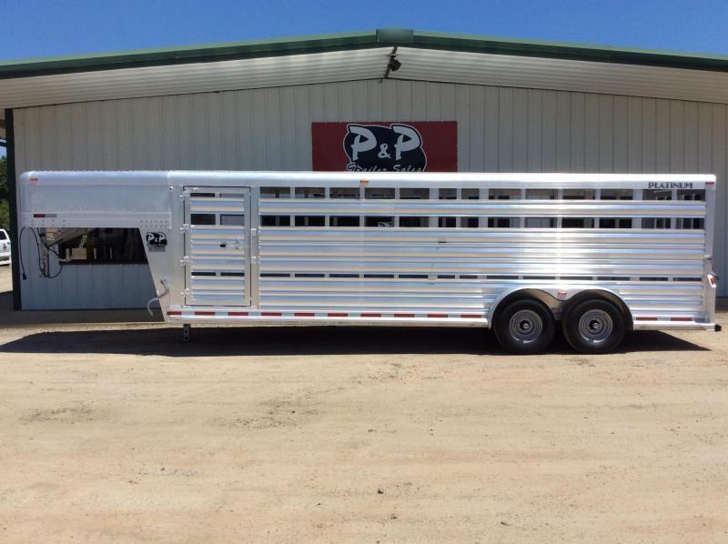 2019 Platinum Coach 724STK 24' Livestock Trailer in Ashburn, VA
