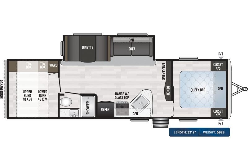 "2020 Keystone RV Springdale 296BH 33'2"" ft Travel Trailer RV"