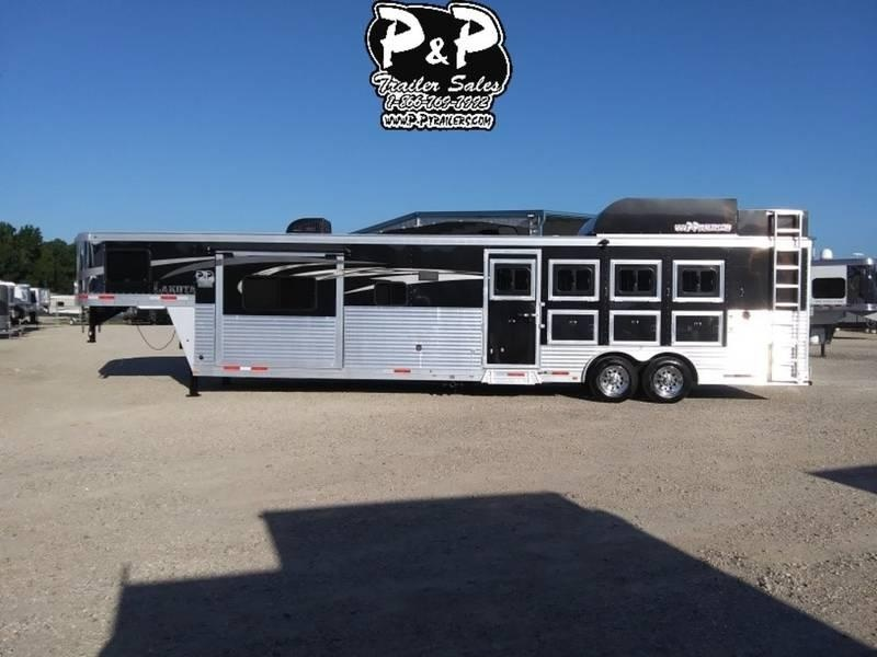 2016 Lakota Trailers Charger Edition C8415RK 4 Horse 15' Short wall