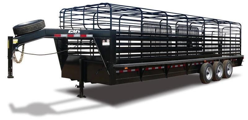 "2019 CM Trailers Brush Buster BT 24 ft. 6' 8"" W x 6' 6"" T"