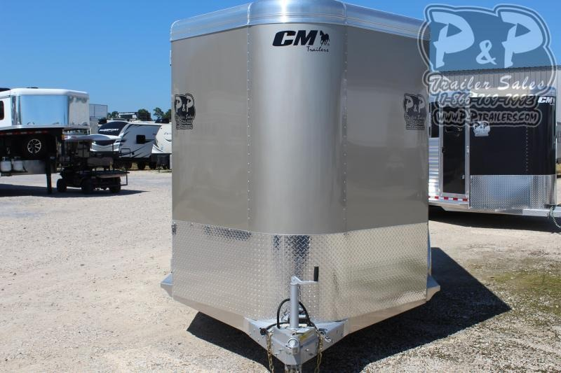 2019 CM CMH5043-16 RENEGADE 3 Horse Slant Load Trailer