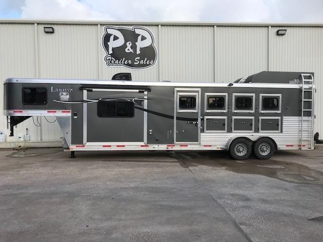 2015 Lakota C411 4 Horse Trailer 11 LQ With Slides Slant