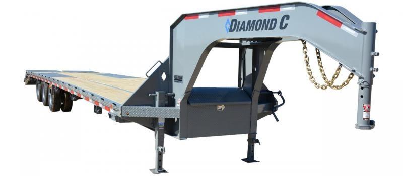 2019 Diamond C Trailers FMAX312 Gooseneck Equipment Trailer