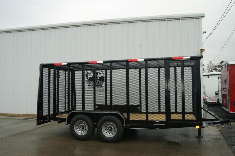 2019 P and P 83X16 Cage Trailer 16' Utility Trailer in Ashburn, VA