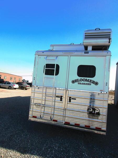 2018 Bloomer Trailers 4 Horse 15' TrailBoss Conversion
