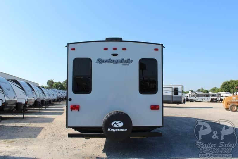 """2019 Keystone Springdale 253FWRE 32' 10""""' Fifth Wheel Campers"""