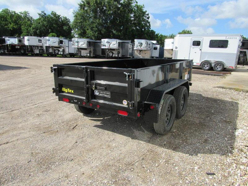 2019 Big Tex Trailers 5 'x 10' Tandem Dump