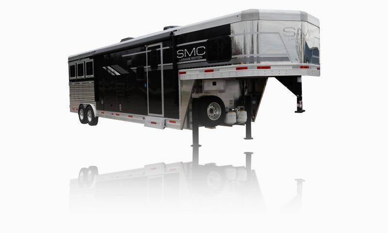 2019 SMC Horse Trailers SL8X13SSR LARAMIE 3 Horse 13' LQ Horse Trailer Slant