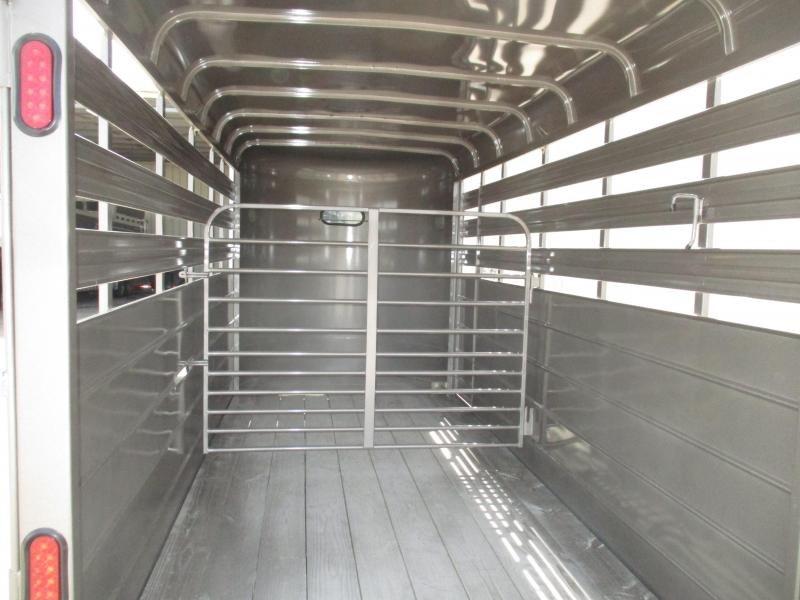 2019 CM Stocker 16 x 6 x 6 Livestock Trailer