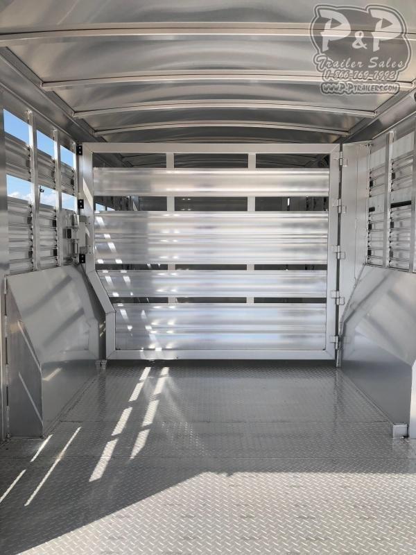 2020 Platinum Coach 832STK 32 ft Livestock Trailer