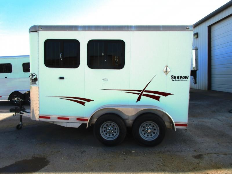 2013 Shadow Trailers 613SC-2SL-BP Horse Trailer