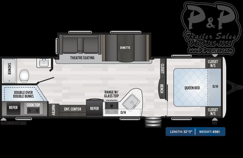 2020 Keystone RV Springdale 270BH 32.92 ft Travel Trailer RV
