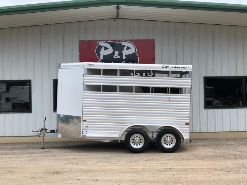 2019 CM CMH4542-1370235 Cheyenne Horse Trailer