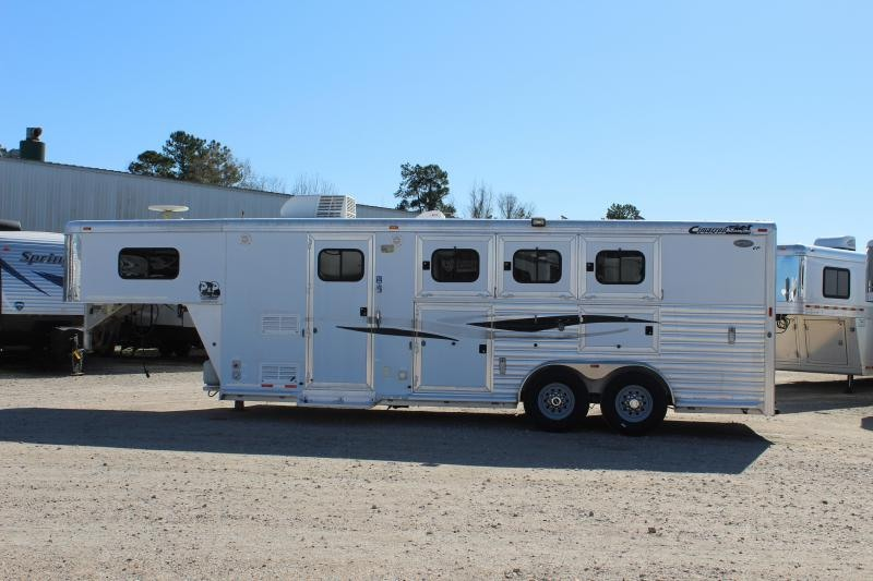 2008 Cimarron Trailers 3 Horse 8 Short wall Horse Trailer
