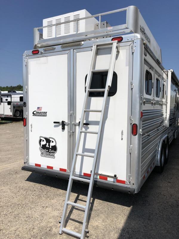 2013 Cimarron Trailers 8315 Norstar 3 Horse Trailer 15' LQ Slant