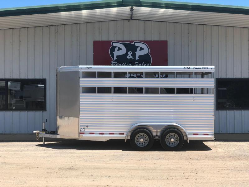 2019 CM CMH4543-1670252 CHEYENNE Horse Trailer in Ashburn, VA