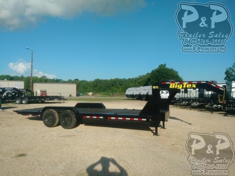 2020 Big Tex Trailers 16TL 22 22 ft Flatbed Trailer