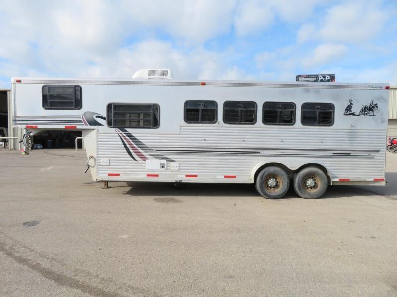1999 Silver Lite 4H 7 SW 4 Horse Trailer 7 LQ Slant in Ashburn, VA