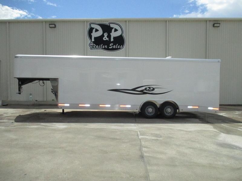2019 P & P Enclosed Car Haulers 24' Car Hauler