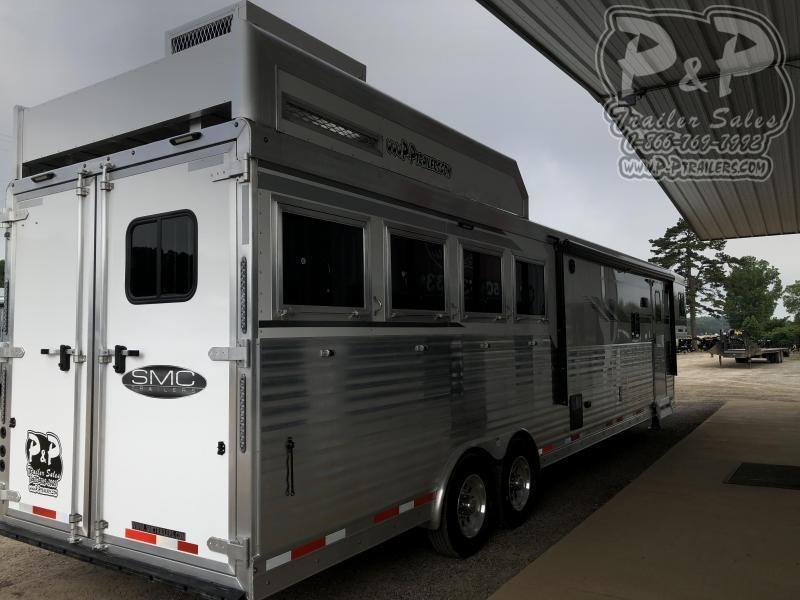 2020 SMC Horse Trailers SL8415SRKCE 4 Horse Trailer 15 LQ With Slides Slant